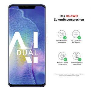 Huawei Mate20 Pro Dual-SIM Smartphone Bundle (6,39 Zoll, 128 GB interner Speicher, 6 GB RAM, Android 9.0, EMUI 9.0)midnight blau+ USB Typ-C-Adapter[Exklusiv bei Amazon] – Deutsche Version