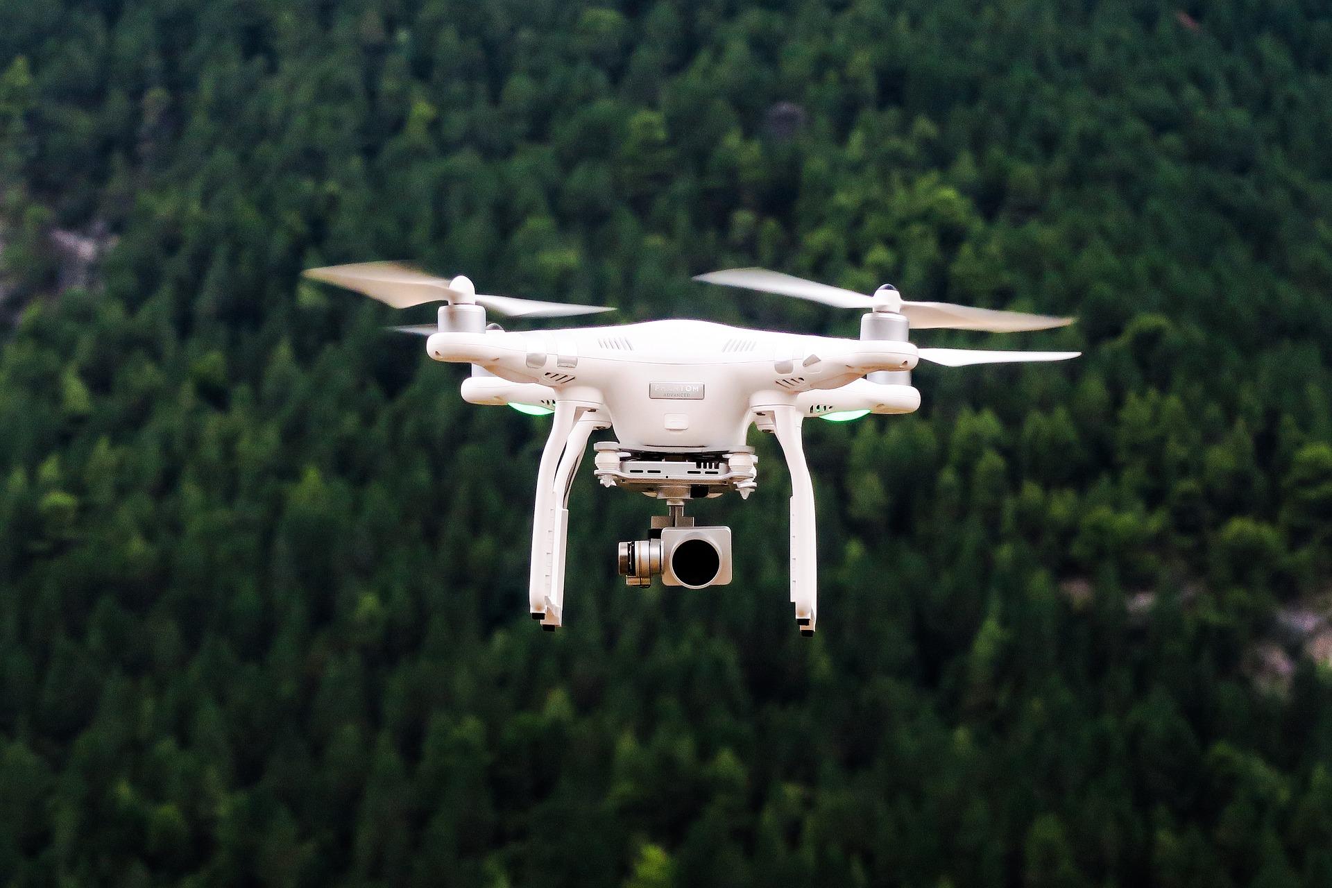 Die drei neuesten Drohnen Modelle 2019